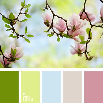 Пастельные оттенки весны